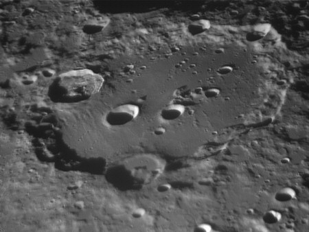 Lunar photography Clavius crater DMK