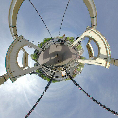 Little planets planetoid polar planets Amsterdam Magere brug